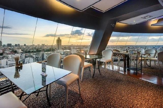 Grand China Princess Hotel Rooftop Bar là địa điểm thư giãn và ngắm cảnh tuyệt đẹp