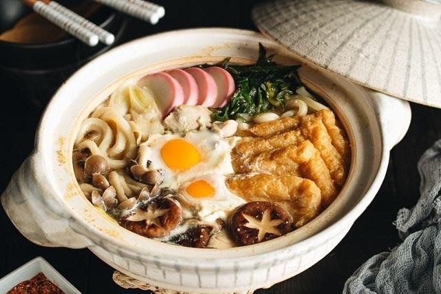 Miso Nikomi Udon là món mỳ nổi tiếng được chế biến theo cách riêng của người Nagoya