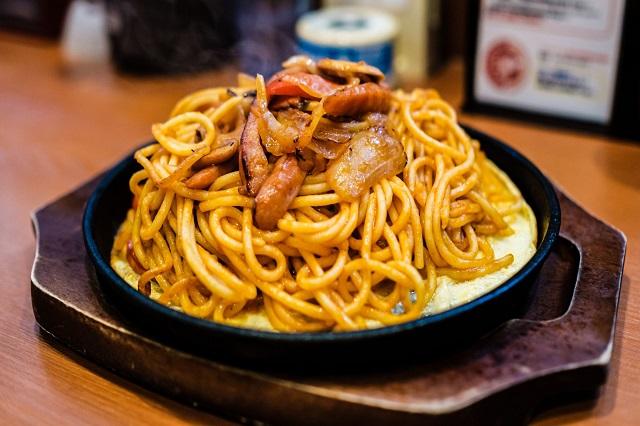Spaghetti Ankake là món ăn độc đáo được chế biến theo phong cách riêng của Nagoya