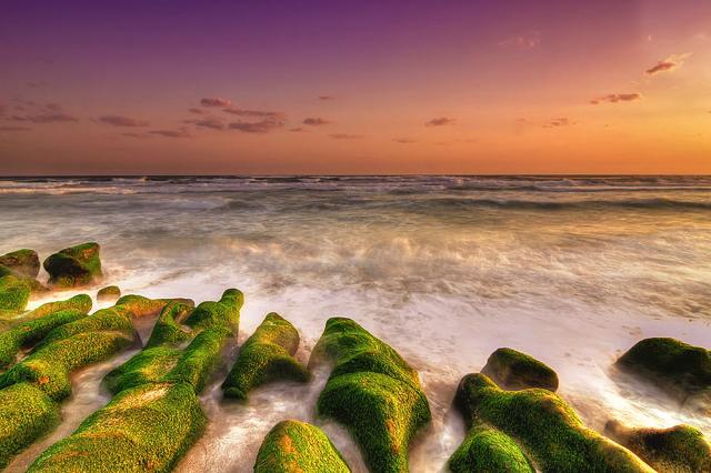 Bức tranh bình minh tuyệt đẹp mà bạn có thể ngắm nhìn khi ghé thăm bãi biển Laomei