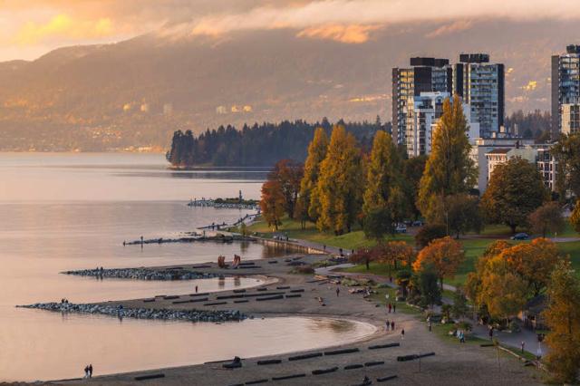 West End được đánh giá là một trong những khu phố quan trọng và đẹp nhất Vancouver